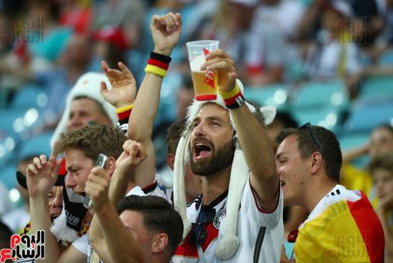 توافد جماهير ألمانيا