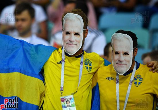 مشجعو السويد