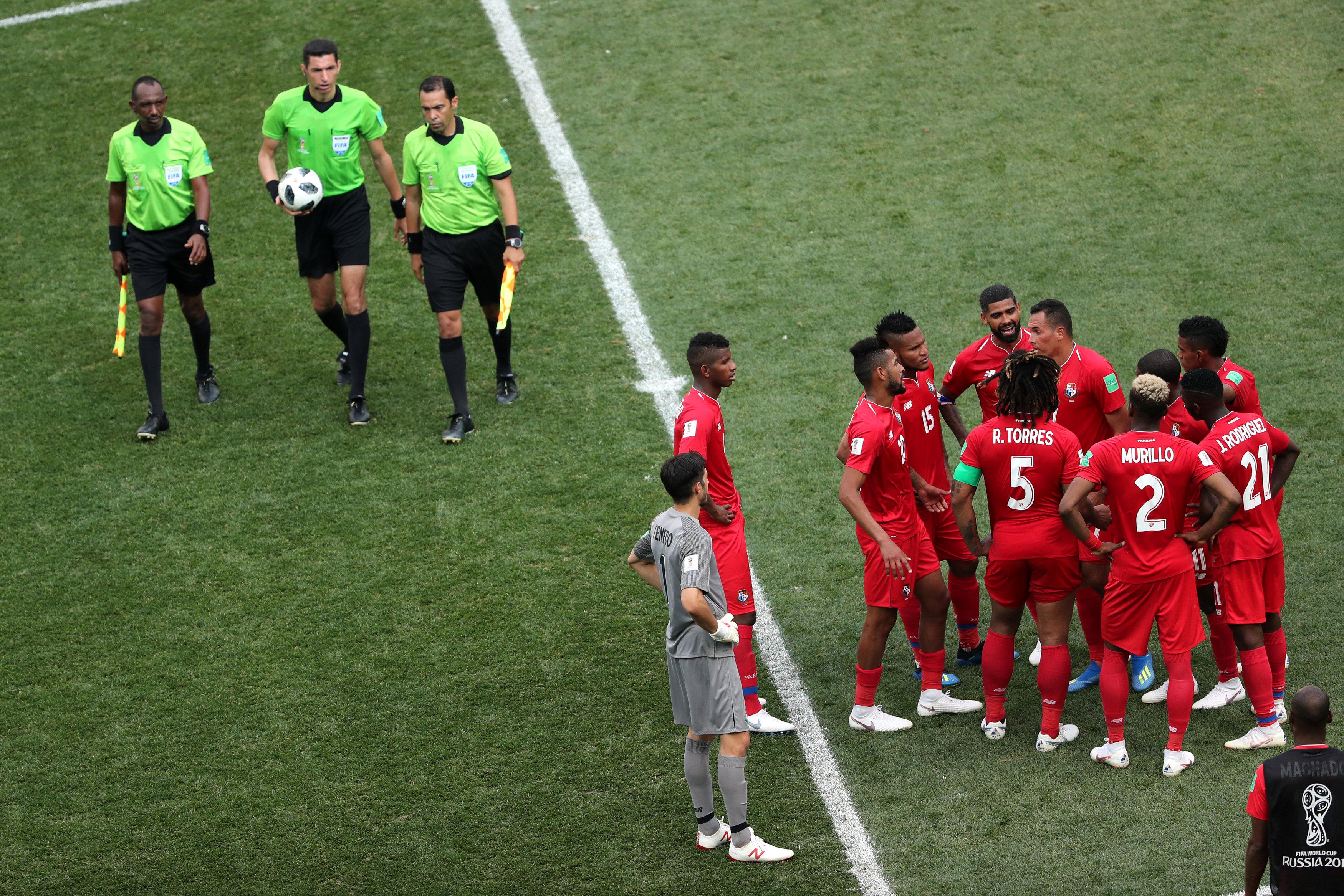الحكم الدولى جهاد جريشة فى كأس العالم بروسيا