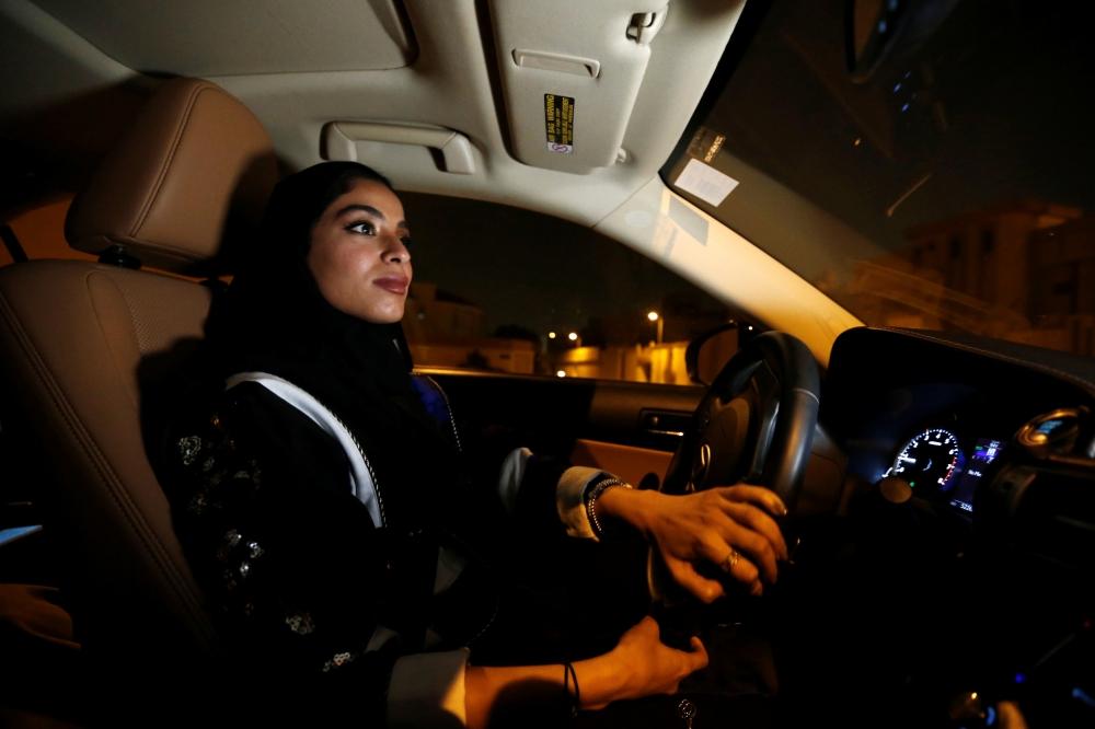 قيادة السيارات فى السعودية