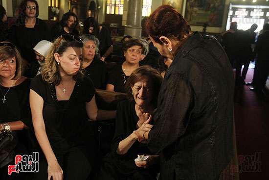 صور جنازة اللواء باقى زكى يوسف (2)