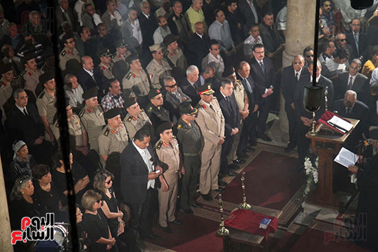 صور جنازة اللواء باقى زكى يوسف (40)