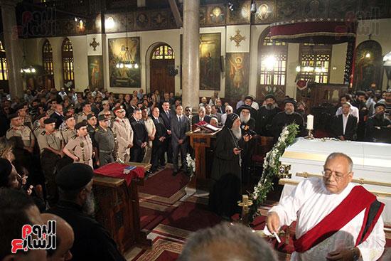 صور جنازة اللواء باقى زكى يوسف (26)