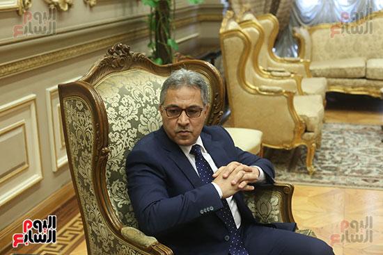 صور أحمد السجينى يستقبل سفير أوكرانيا بمقر مجلس النواب (3)