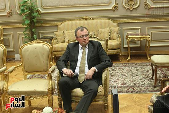 صور أحمد السجينى يستقبل سفير أوكرانيا بمقر مجلس النواب (6)