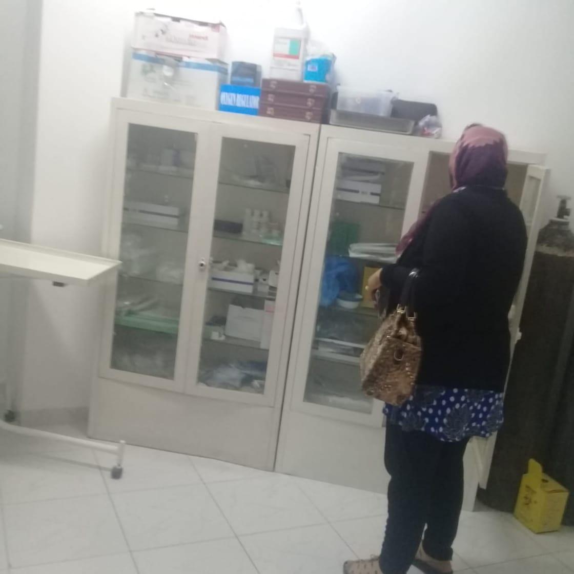 2-عيادة بدون ترخيص