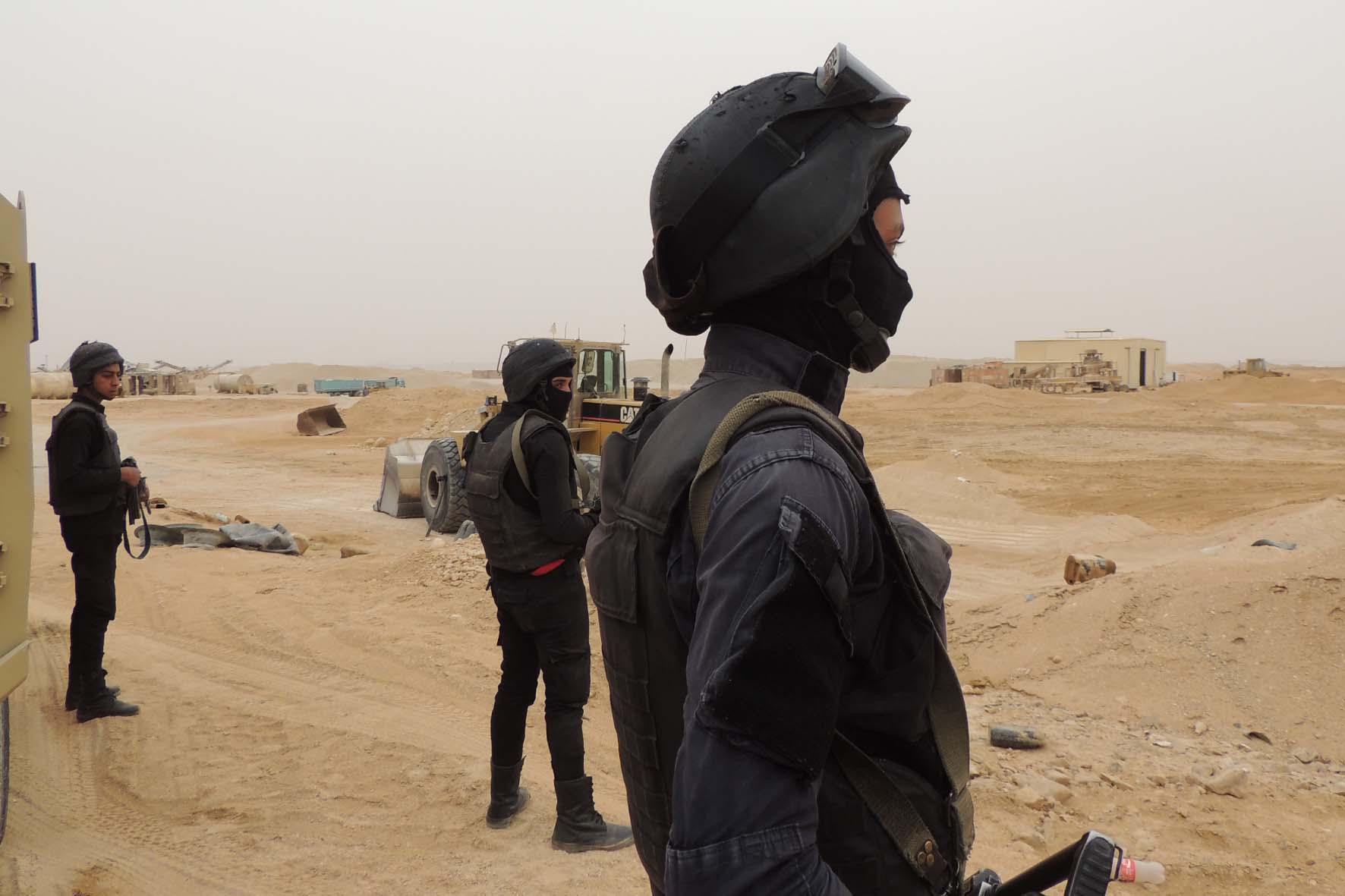 حملات أمنية بالصحراء