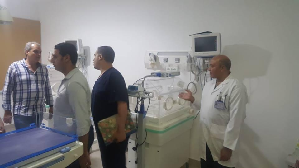 الدكتور خالد ابوهاشم وكيل وزارة الصحة والسكان بجنوب سيناء (1)