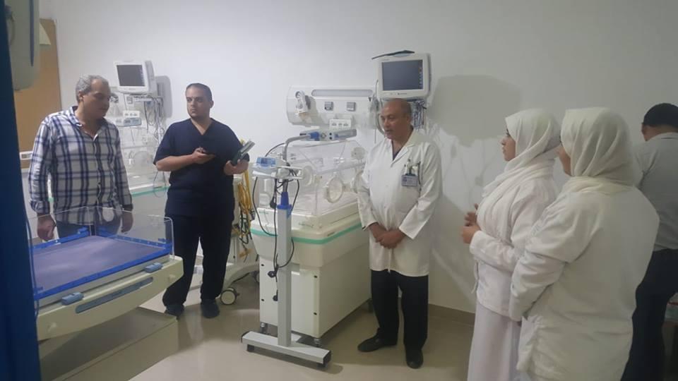 الدكتور خالد ابوهاشم وكيل وزارة الصحة والسكان بجنوب سيناء (3)