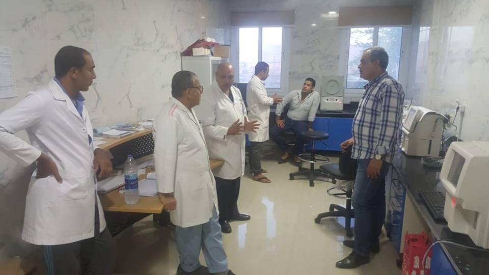 الدكتور خالد ابوهاشم وكيل وزارة الصحة والسكان بجنوب سيناء (4)