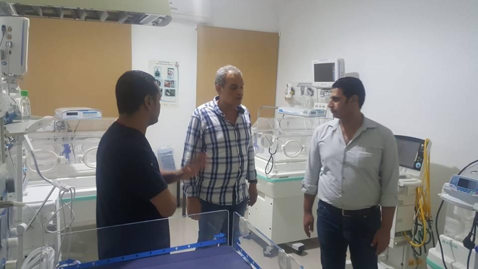 الدكتور خالد ابوهاشم وكيل وزارة الصحة والسكان بجنوب سيناء (2)