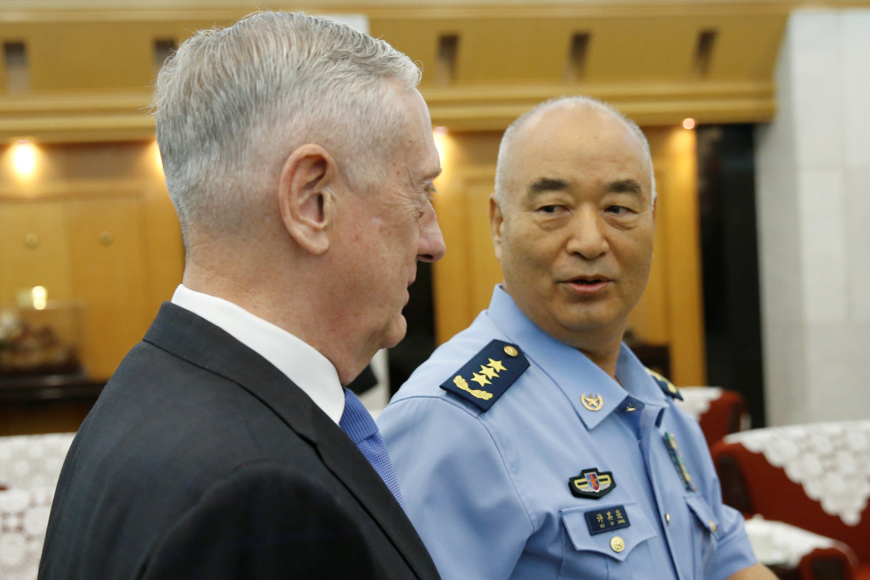 نائب رئيس اللجنة العسكرية الصينية  وماتيس