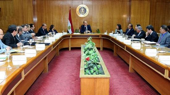 لقاء وزير الصناعة مع رؤساء الهيئات