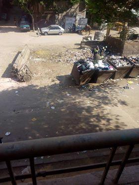 القمامة بكفر طهرمس (2)