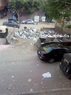 القمامة بكفر طهرمس (3)