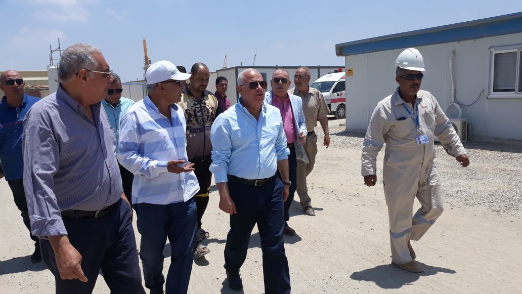 محاف بورسعيد ووكيل مديرية القوى العاملة (1)