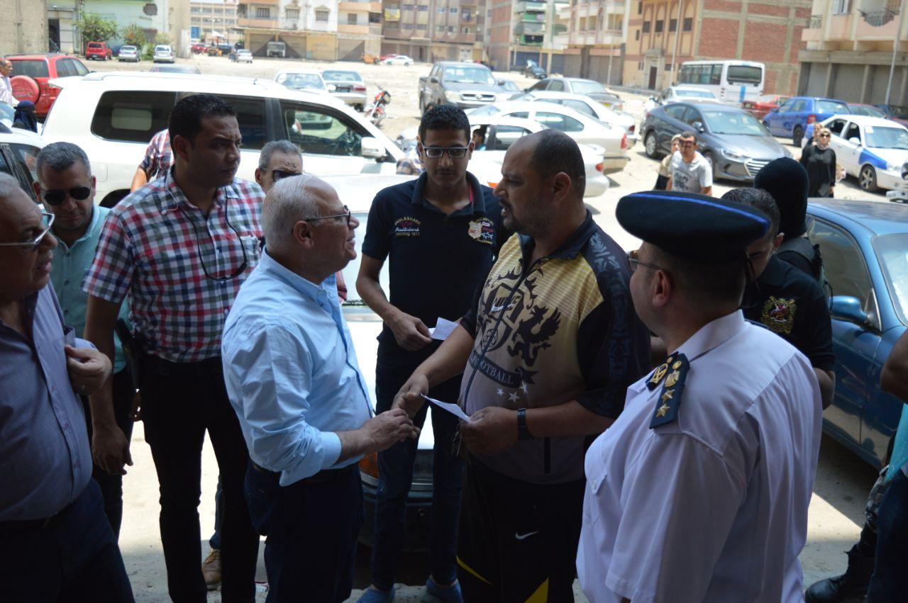 محاف بورسعيد ووكيل مديرية القوى العاملة (2)