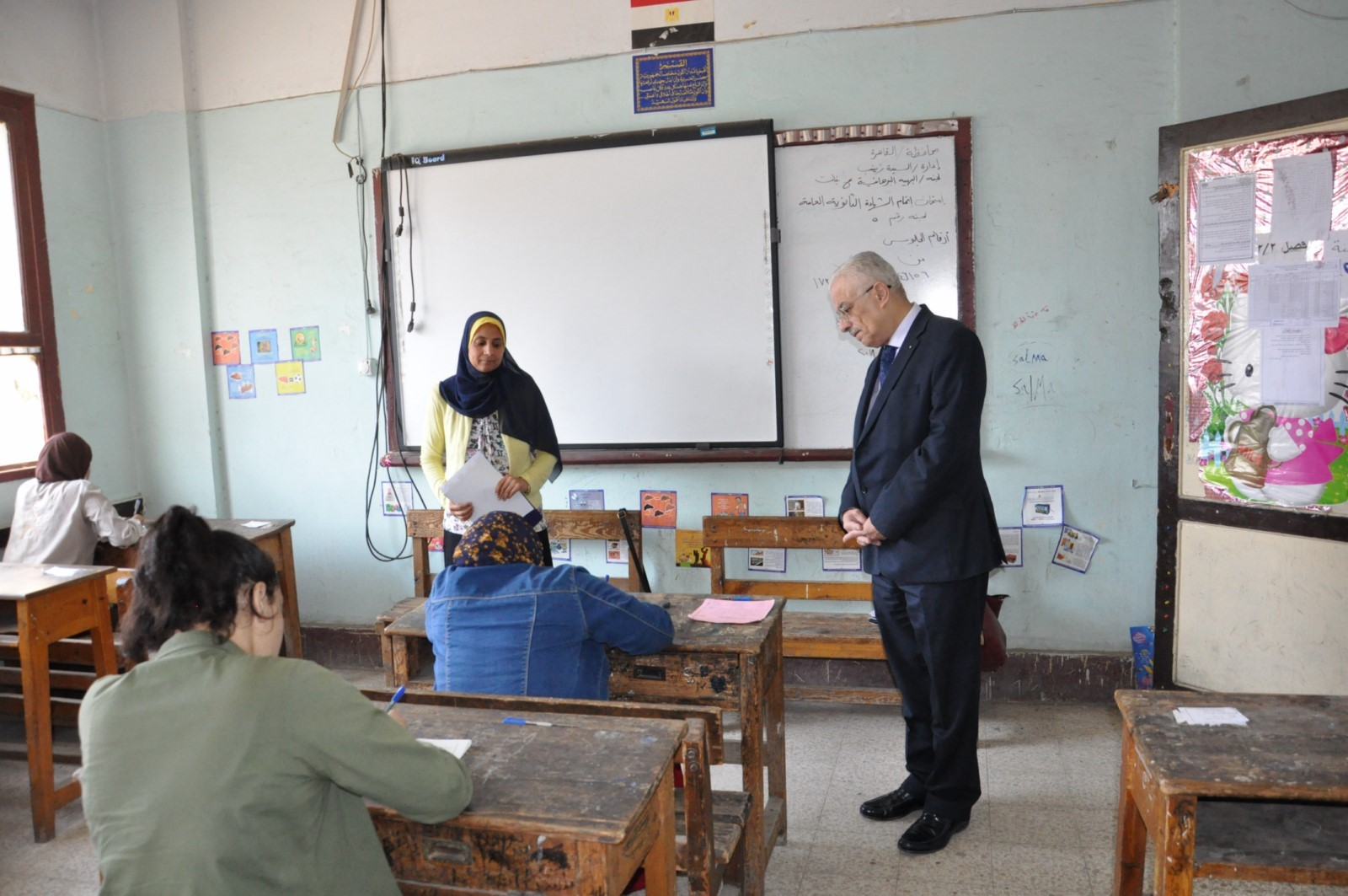 جولة وزير التربية والتعليم (1)