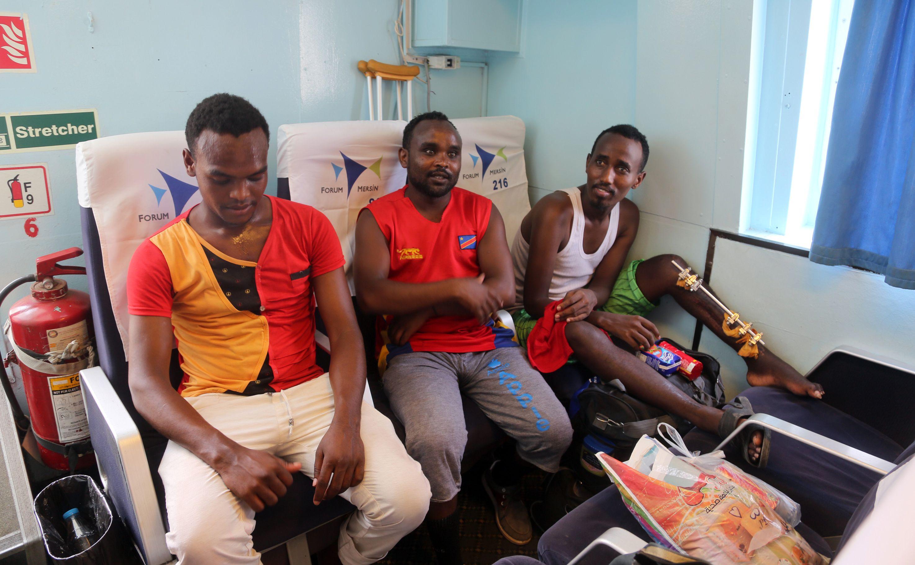 إجلاء مهاجرين أثيوبيين إلى بلادهم عبر جيبوتى