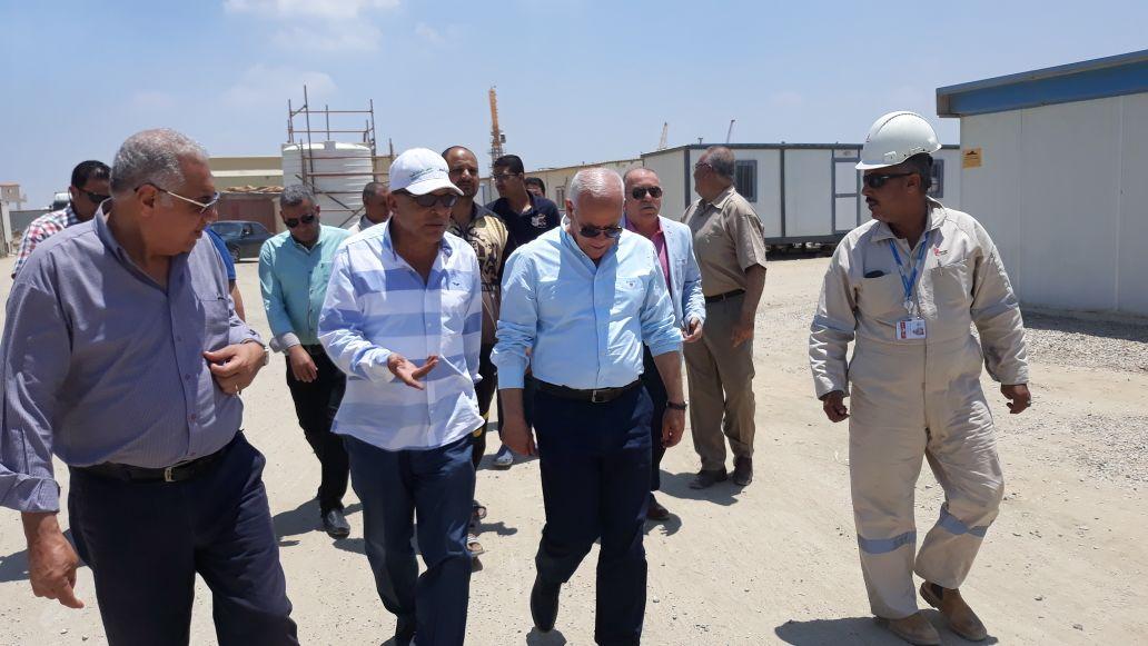 محاف بورسعيد ووكيل مديرية القوى العاملة (4)