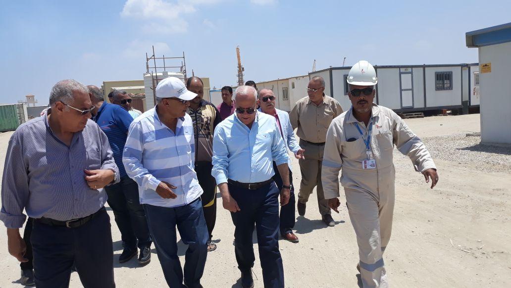 محاف بورسعيد ووكيل مديرية القوى العاملة (3)