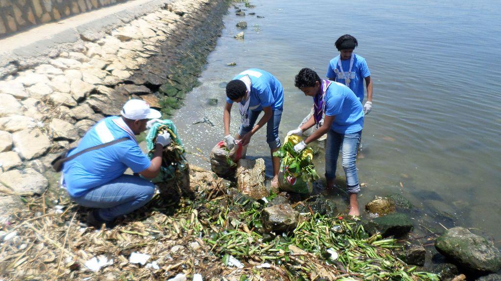 الاحتفال باليوم العالمى للبيئة بالاسماعيلية (3)