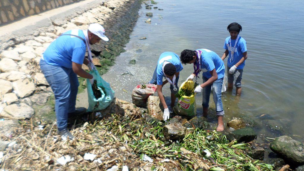 الاحتفال باليوم العالمى للبيئة بالاسماعيلية (2)