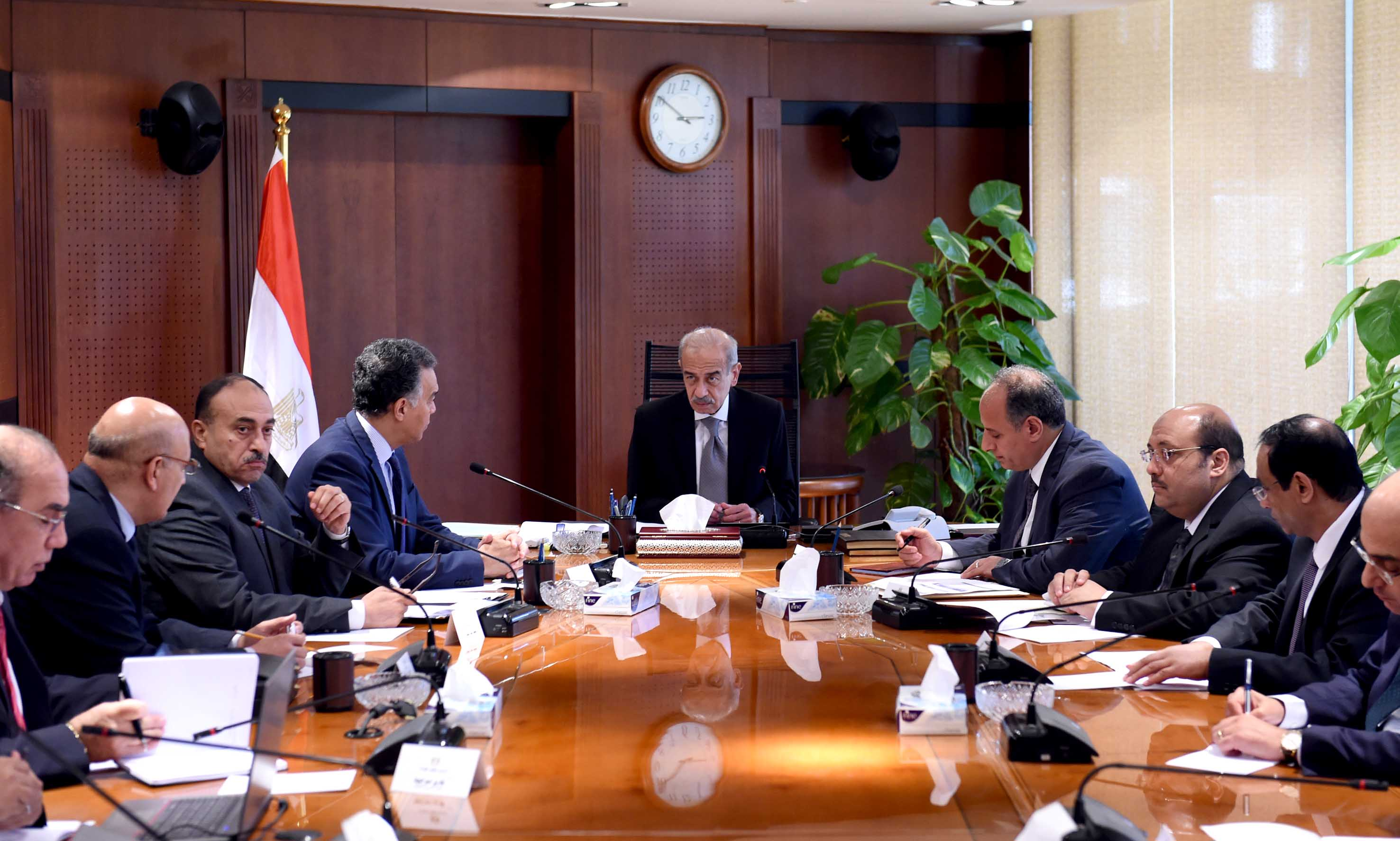 شريف اسماعيل - اجتماع ترام اسكندرية