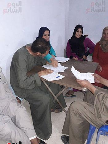 اجتماع لاحد القرى