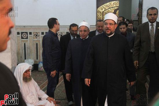 احتفال وزارة الأوقاف بفتح مكة من مسجد السيدة نفيسة (3)