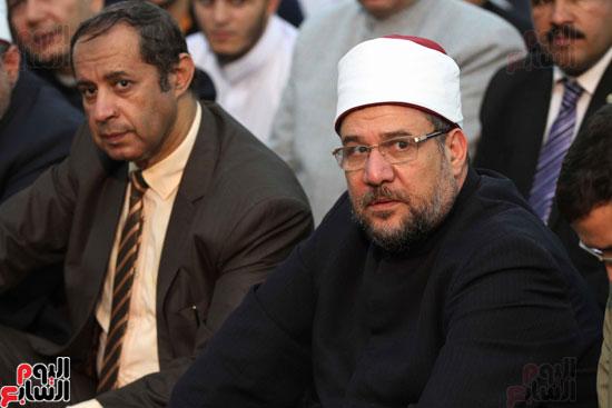احتفال وزارة الأوقاف بفتح مكة من مسجد السيدة نفيسة (8)