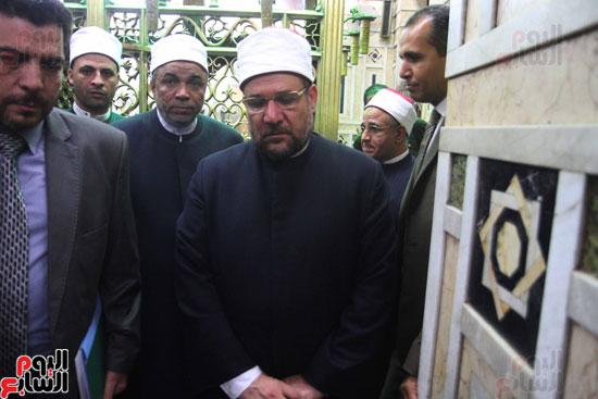 احتفال وزارة الأوقاف بفتح مكة من مسجد السيدة نفيسة (1)