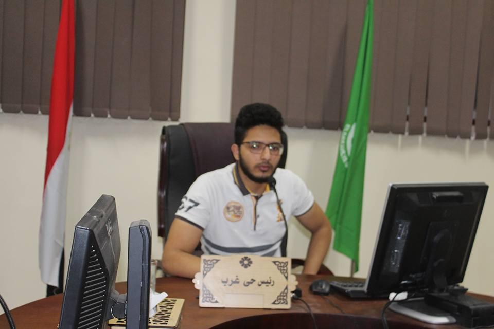 صورة لرئيس المجلس التنفيذي من الطلاب