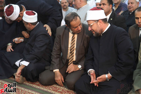 احتفال وزارة الأوقاف بفتح مكة من مسجد السيدة نفيسة (5)