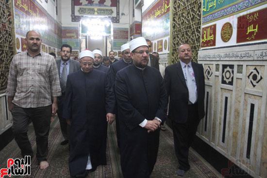 احتفال وزارة الأوقاف بفتح مكة من مسجد السيدة نفيسة (2)
