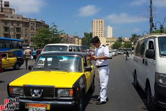 16 ألف تاكسى بالإسكندرية