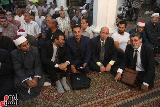 احتفال وزارة الأوقاف بفتح مكة من مسجد السيدة نفيسة (15)
