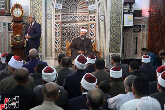 احتفال وزارة الأوقاف بفتح مكة من مسجد السيدة نفيسة (17)