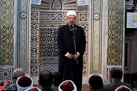 احتفال وزارة الأوقاف بفتح مكة من مسجد السيدة نفيسة (26)