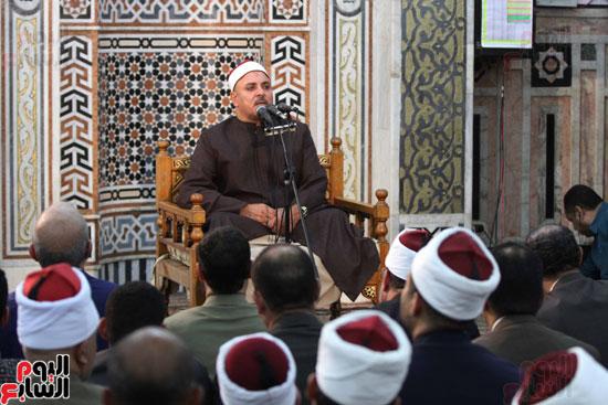 احتفال وزارة الأوقاف بفتح مكة من مسجد السيدة نفيسة (18)