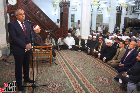 احتفال وزارة الأوقاف بفتح مكة من مسجد السيدة نفيسة (16)