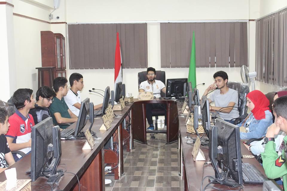 مجلس تنفيذي حي غرب من الطلاب بالمنصورة