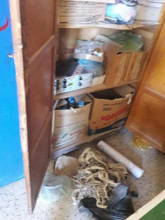 سرقة محتويات مدرسة بالناصرية (2)