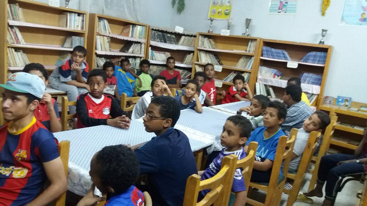 الأطفال خلال المبادرة