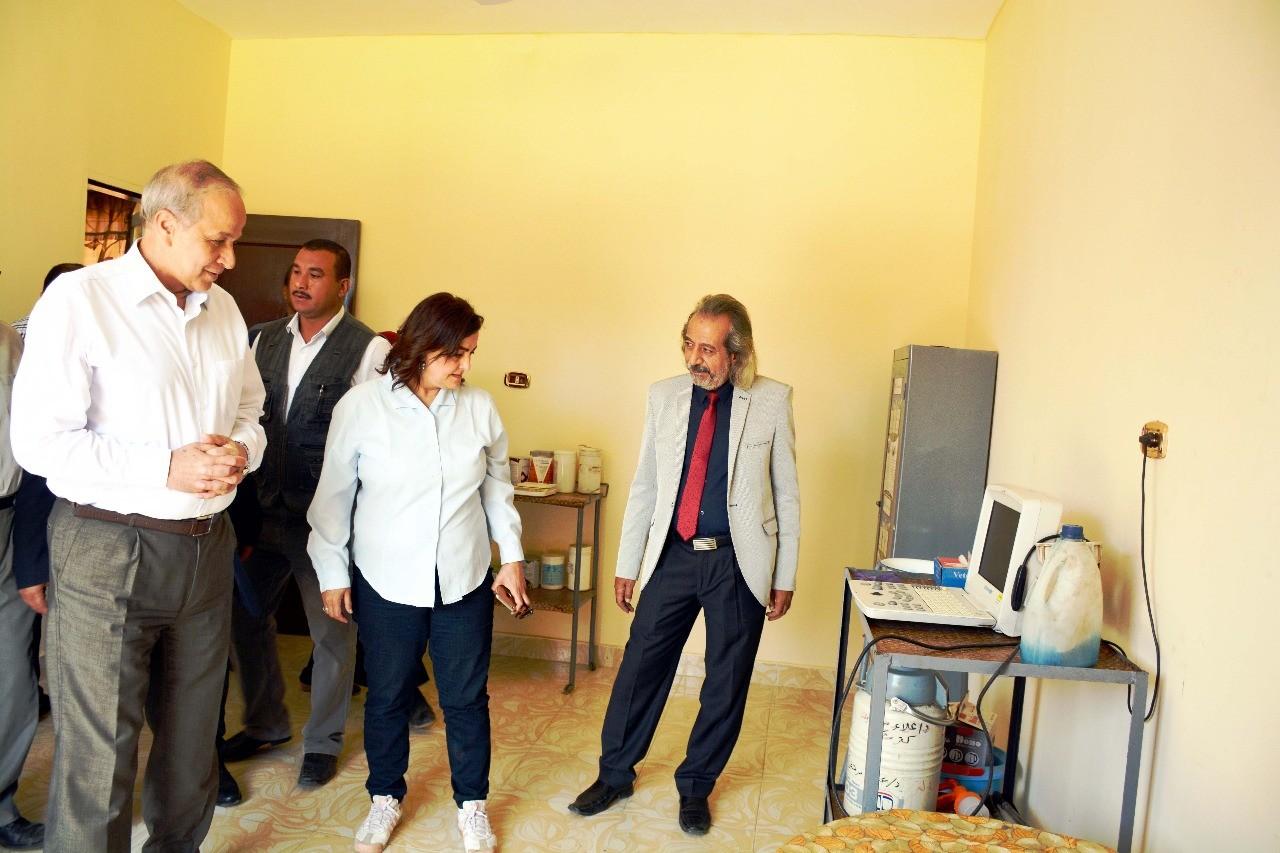 افتتاح وحدتين للطب البيطرى لخدمة 7 قرى بالقليوبية (2)
