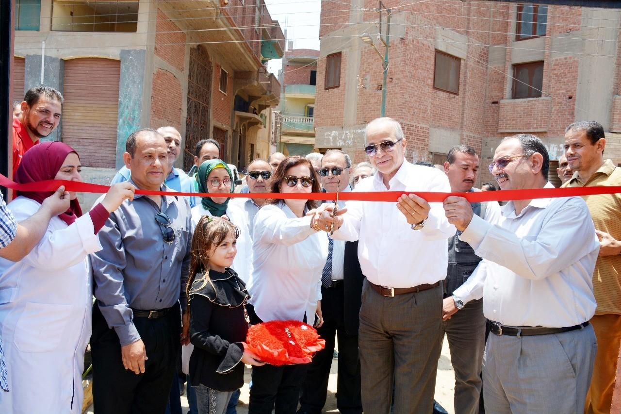 افتتاح وحدتين للطب البيطرى لخدمة 7 قرى بالقليوبية (4)