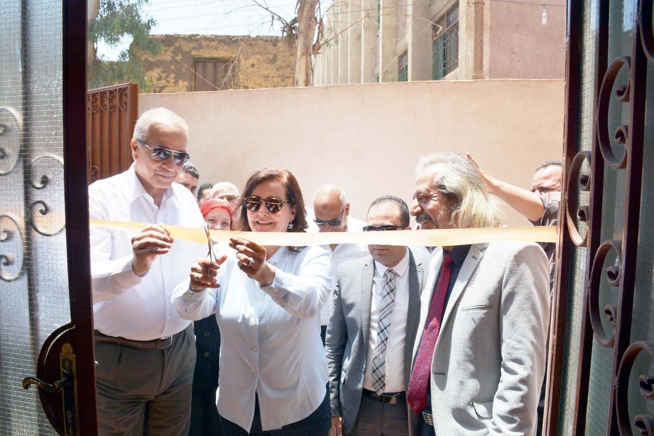 افتتاح وحدتين للطب البيطرى لخدمة 7 قرى بالقليوبية (1)
