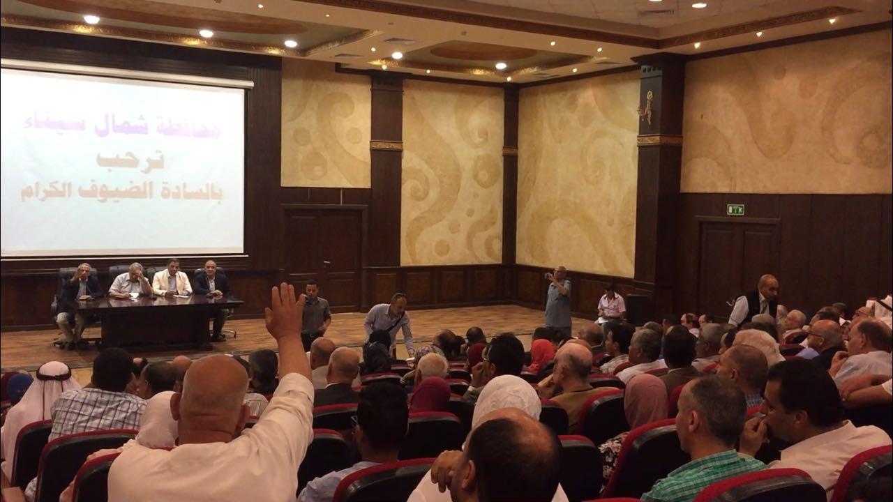 تفاصيل زيارة محلب ووزير التنمية المحلية ومستشار الرئيس للشئون الأمنية لشمال سيناء (21)
