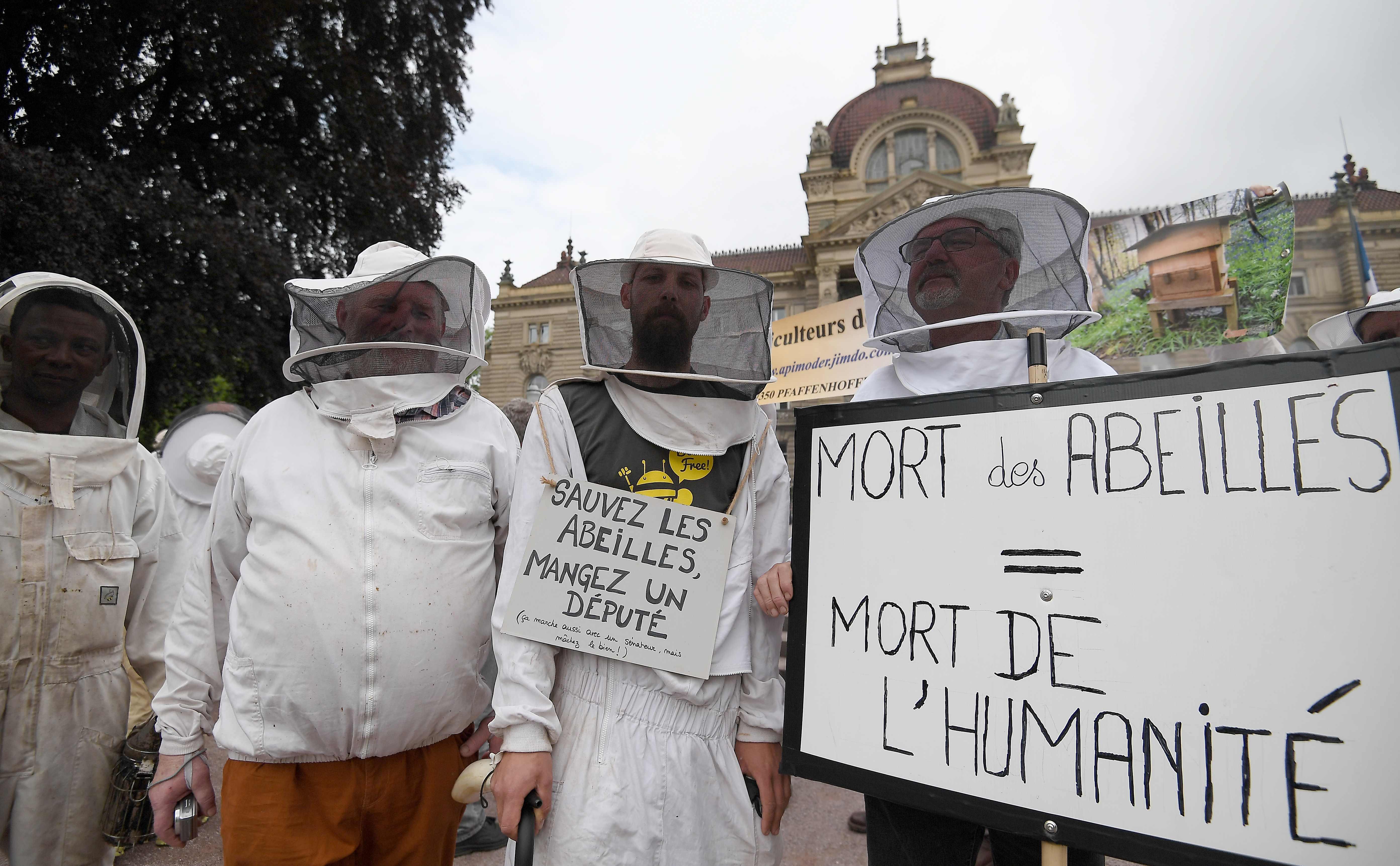 مظاهرة لنشطاء فى باريس