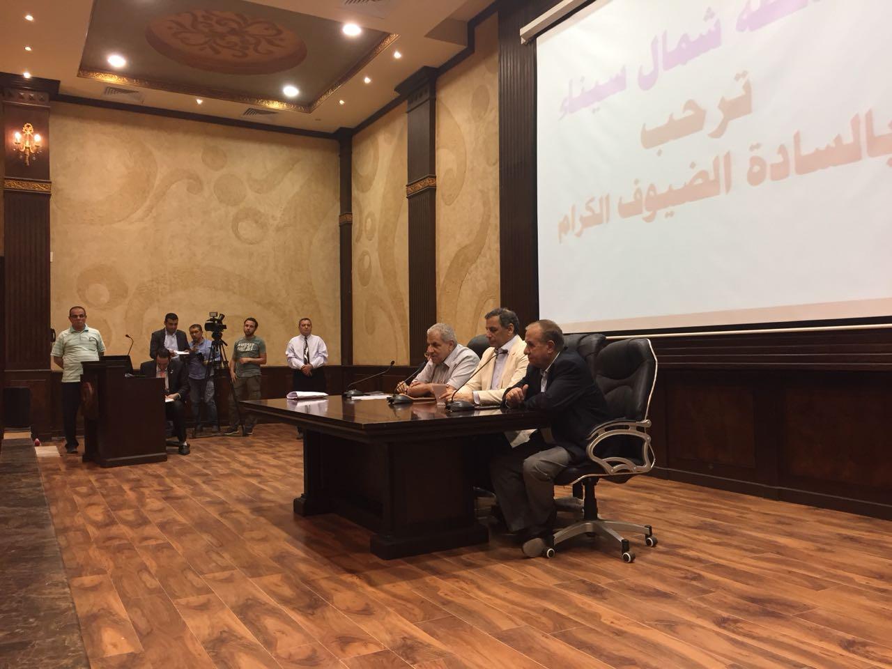 تفاصيل زيارة محلب ووزير التنمية المحلية ومستشار الرئيس للشئون الأمنية لشمال سيناء (27)